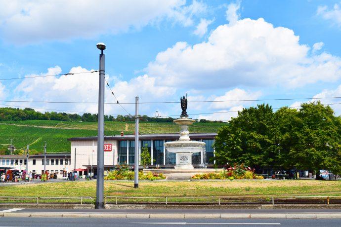 ヴュルツブルク駅前
